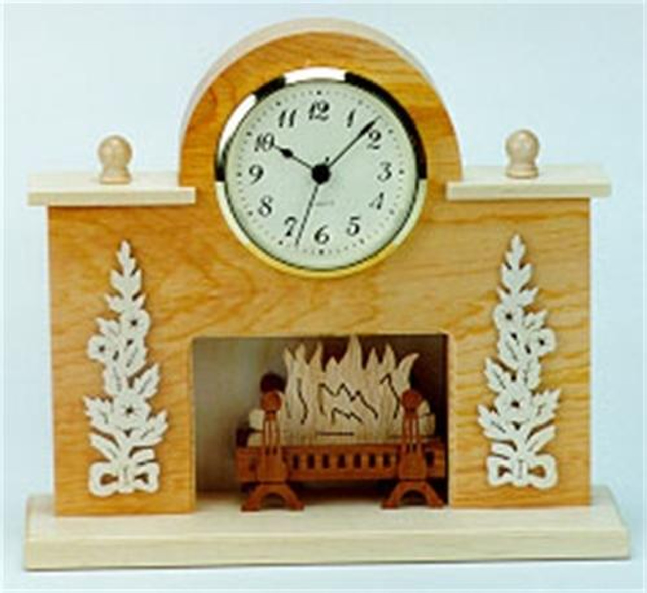 Wildwood Designs Evening By The Fire Clock Plan