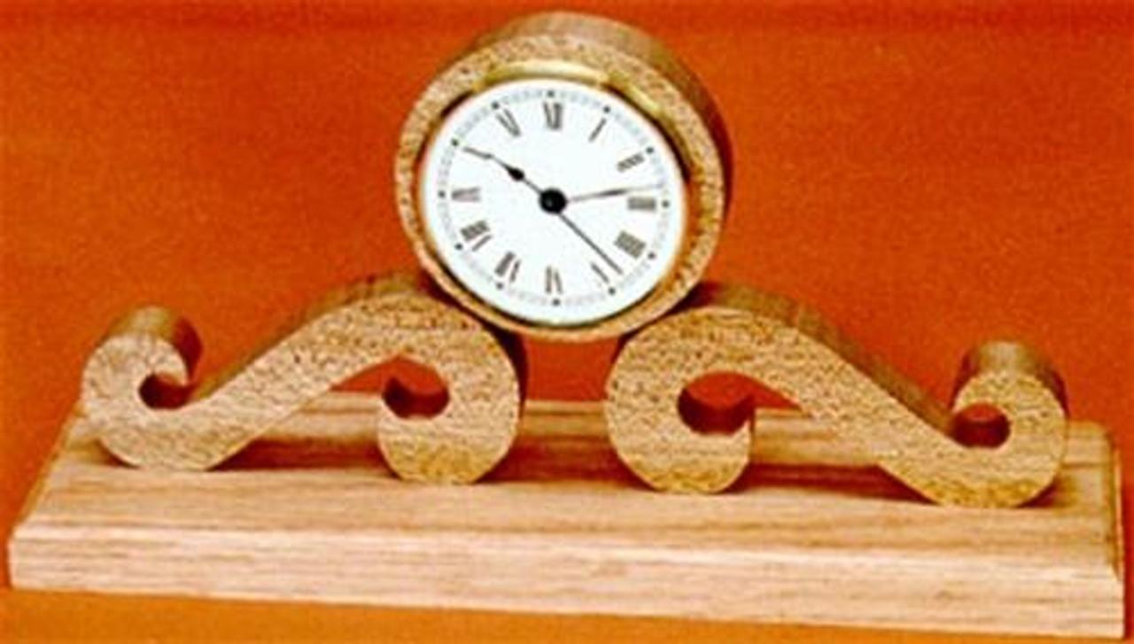 Wildwood Designs Curl Clock Plan