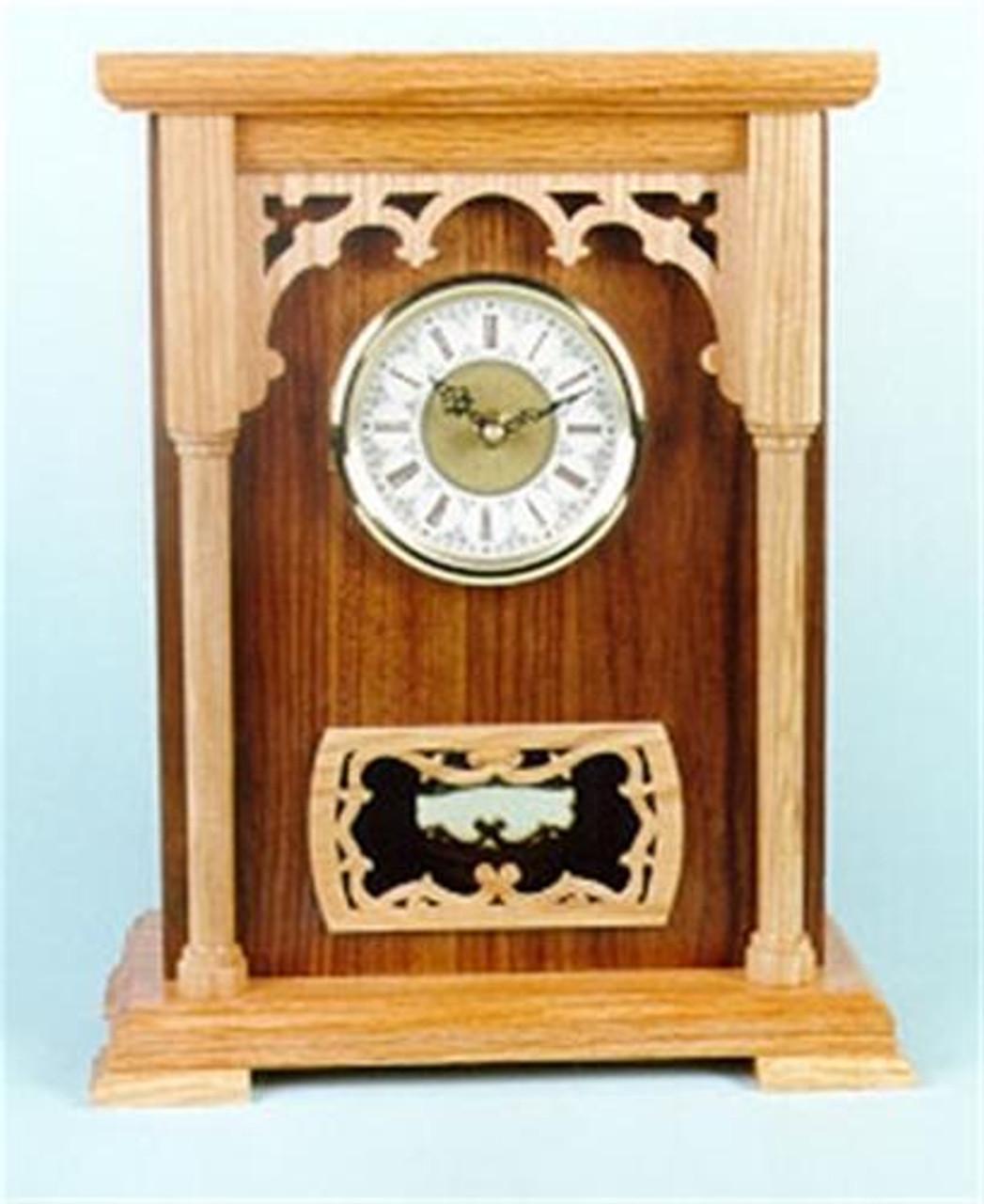 Wildwood Designs Pillar Clock Plan