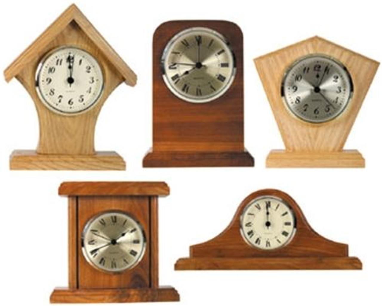 Cherry Tree Toys Five Mini Clocks Plan