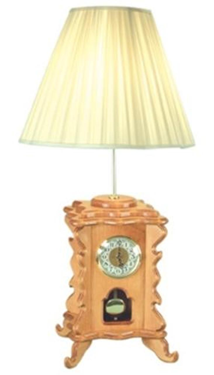 Cherry Tree Toys Madison Lamp Clock Plan