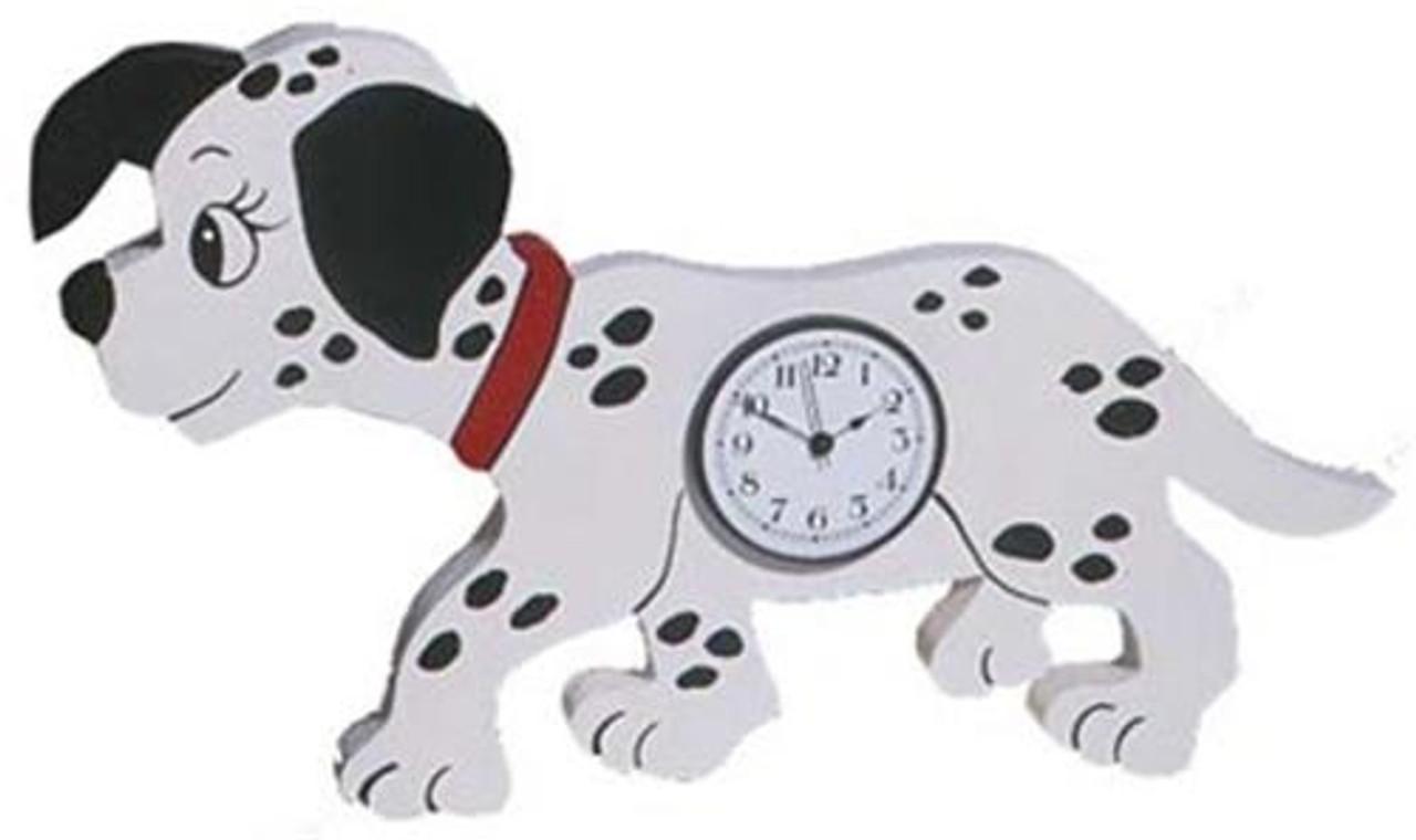 Cherry Tree Toys Dalmation Clock Plan