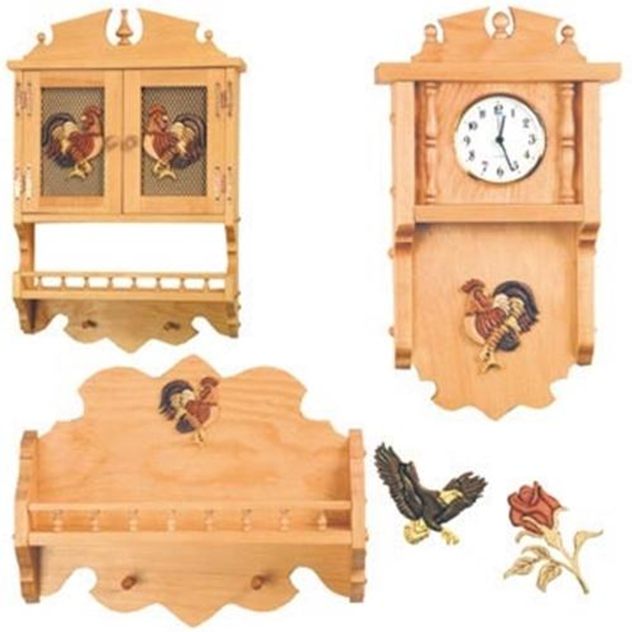Cherry Tree Toys Special All three Intarsia Furniture Plans