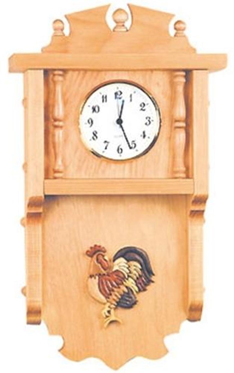 Cherry Tree Toys Intarsia Clock Plan