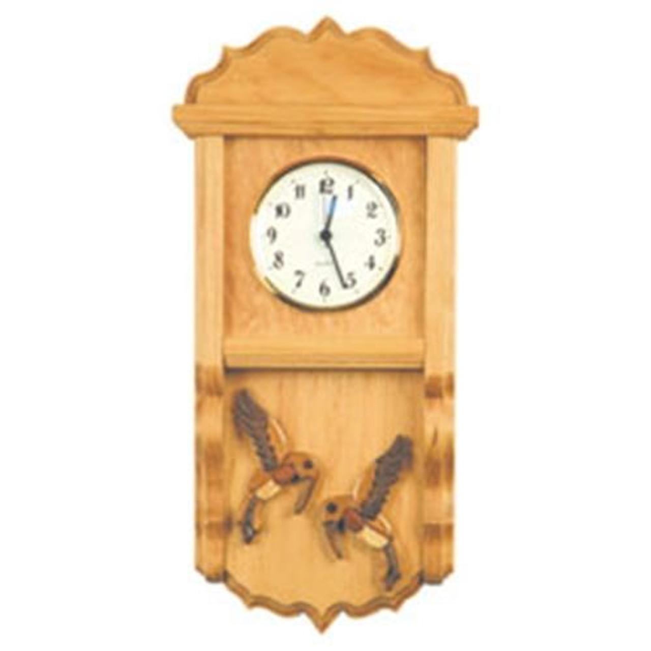 Cherry Tree Toys Hummingbird Clock Plan