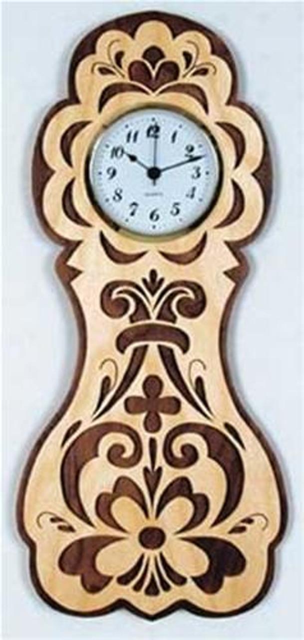 Wildwood Designs Rosemaling Wall Clock Plan