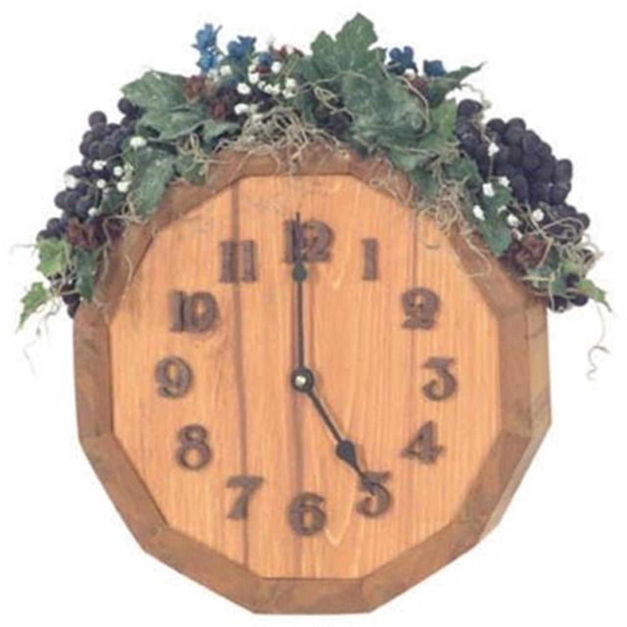 Cherry Tree Toys Grape Harvest Clock Plan