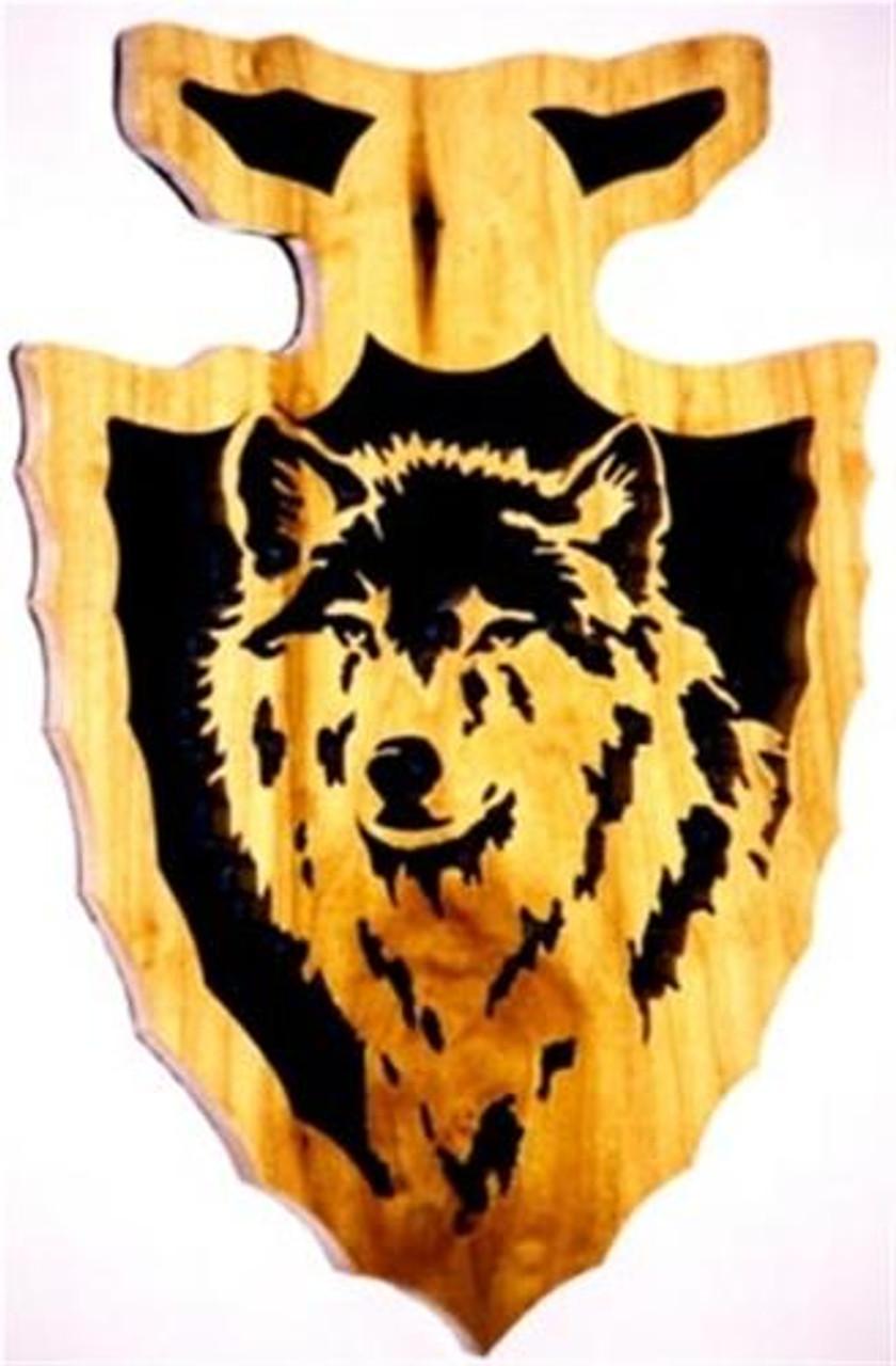 Wildwood Designs Wolf Arrowhead Clock Plan