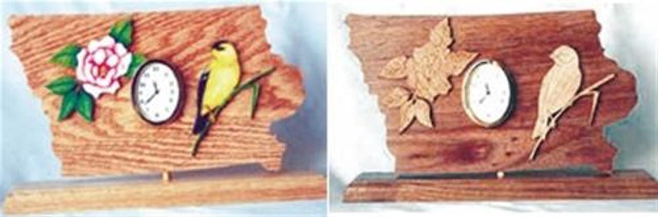 Wildwood Designs Iowa State Clock Pattern