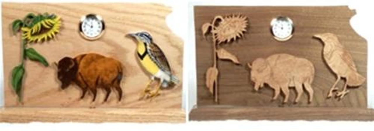 Wildwood Designs Kansas Clock Pattern