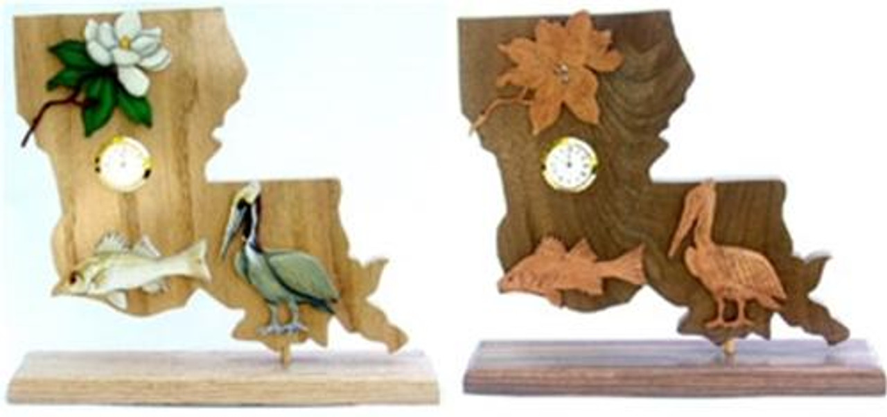 Wildwood Designs Louisiana Scroll Saw Clock Pattern