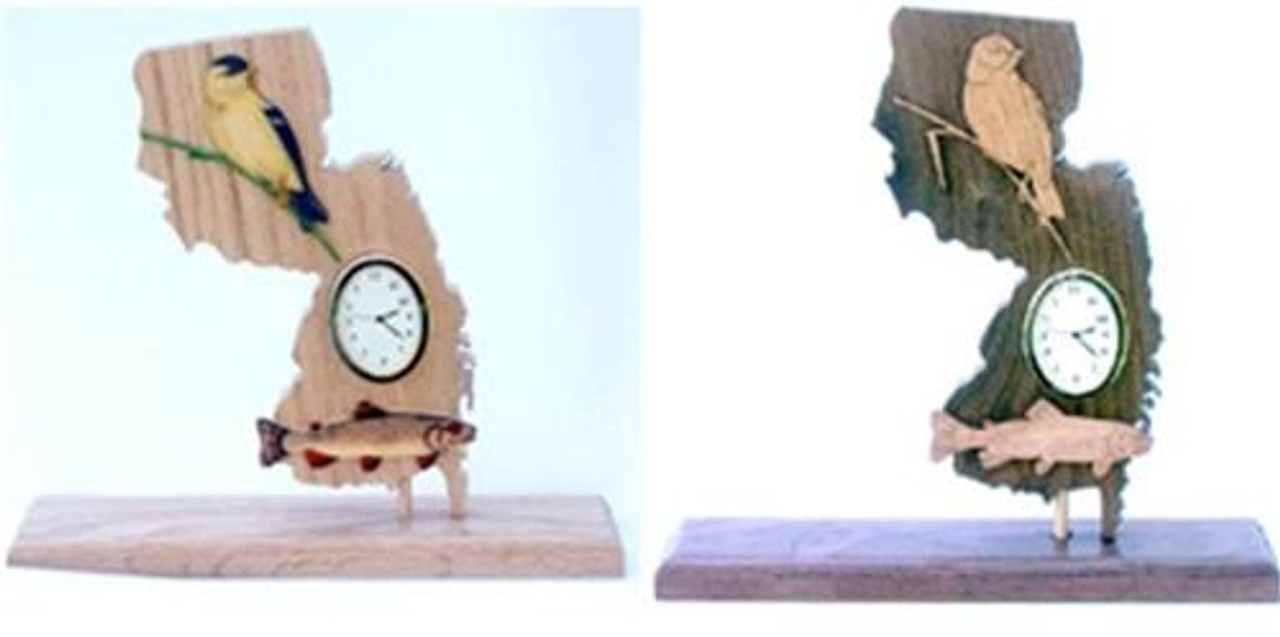 Wildwood Designs New Jersey Clock Pattern