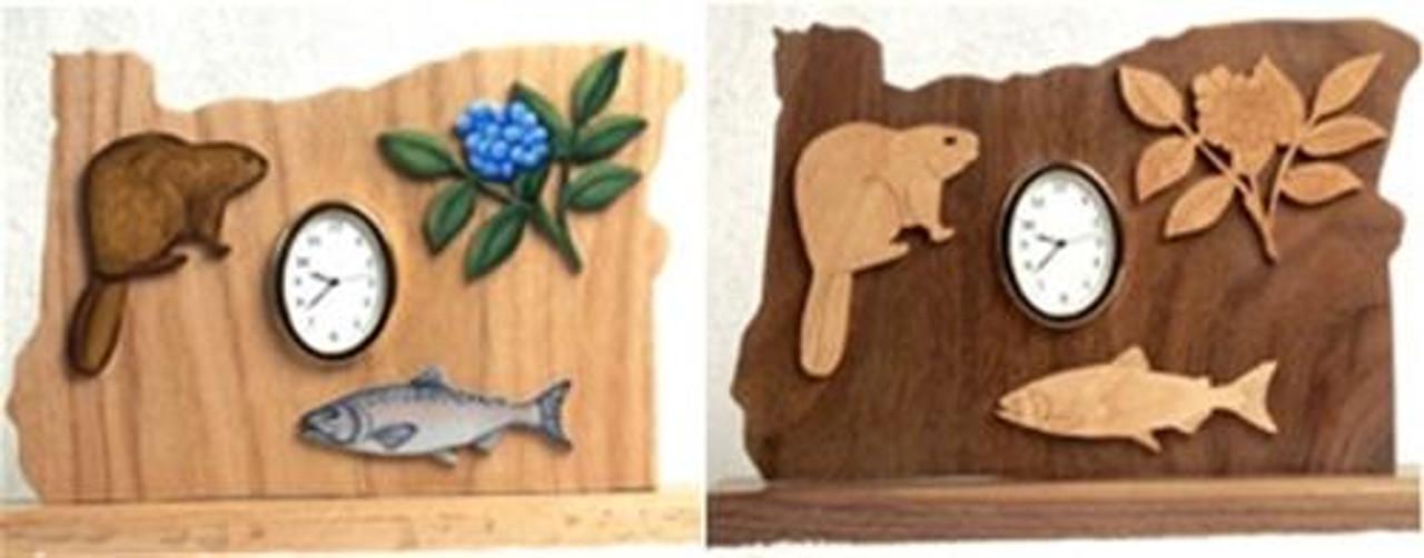 Wildwood Designs Oregon Clock Pattern