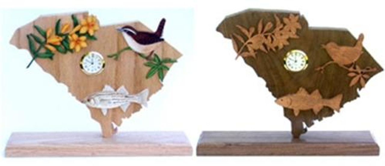 Wildwood Designs South Carolina Clock Pattern