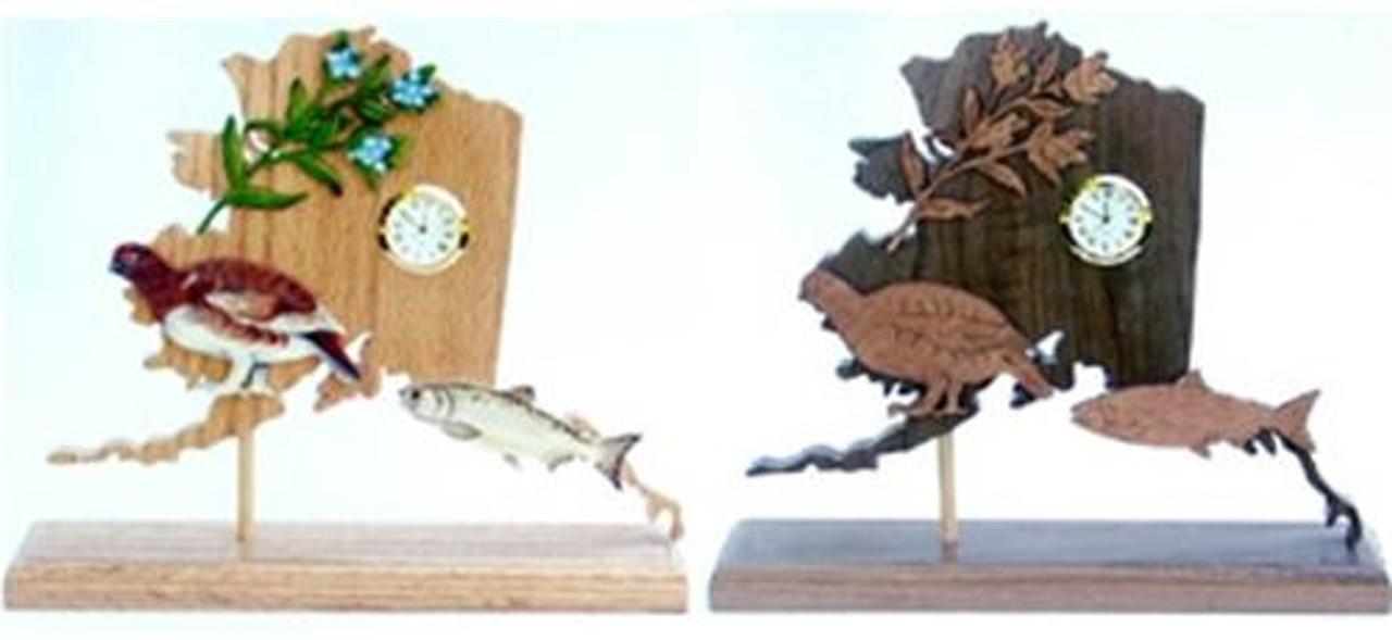 Wildwood Designs Alaska Clock Pattern