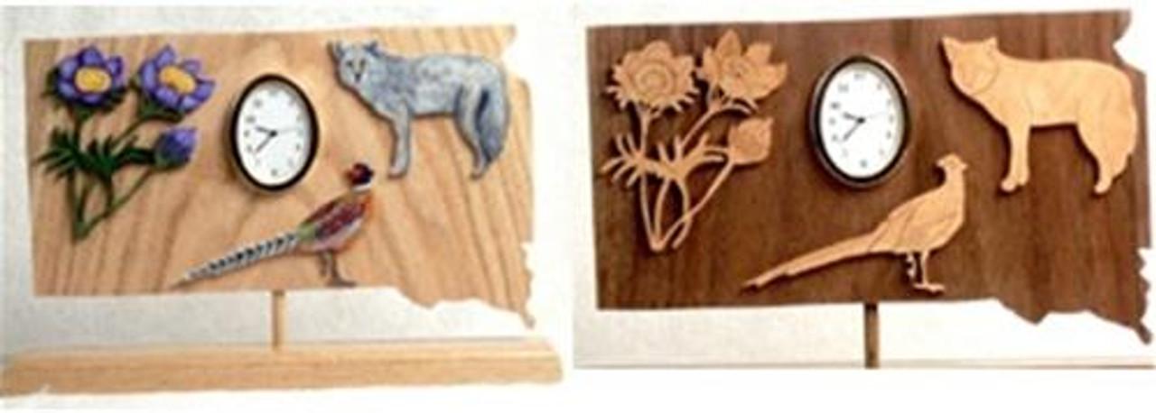 Wildwood Designs South Dakota Clock Pattern