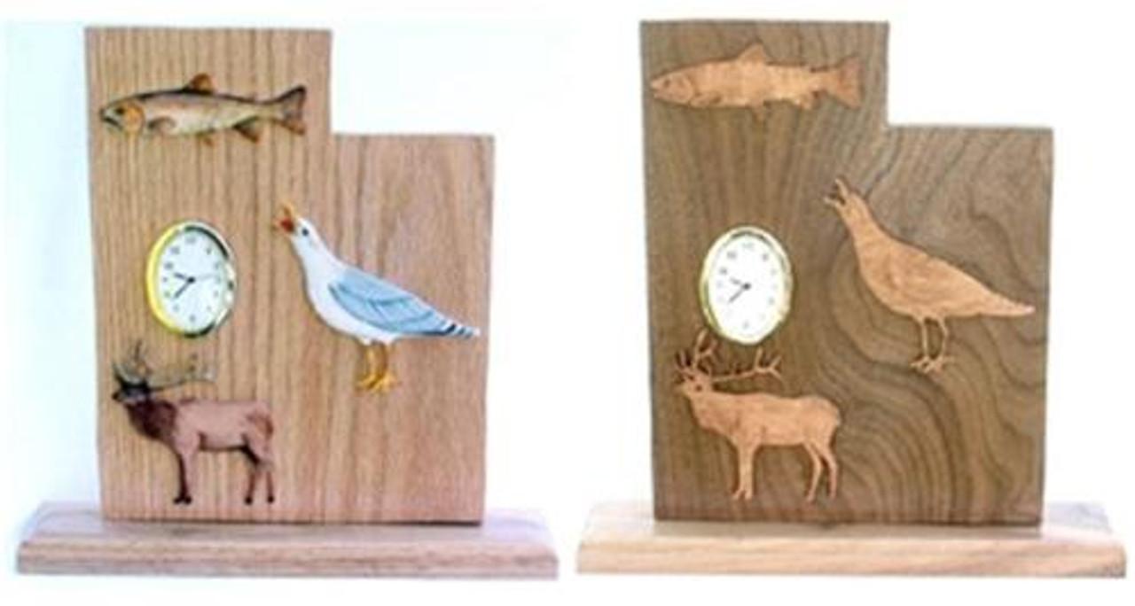Wildwood Designs Utah Clock Pattern