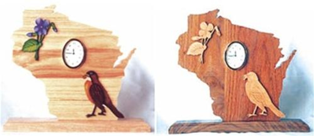 Wildwood Designs Wisconsin Clock Pattern