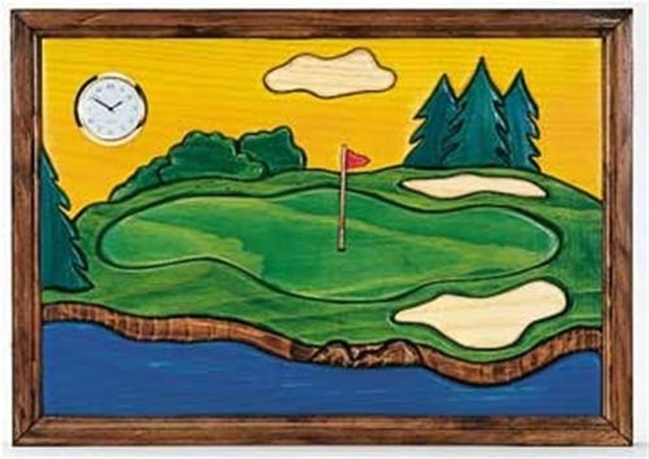 Cherry Tree Toys Golf Clock Plan