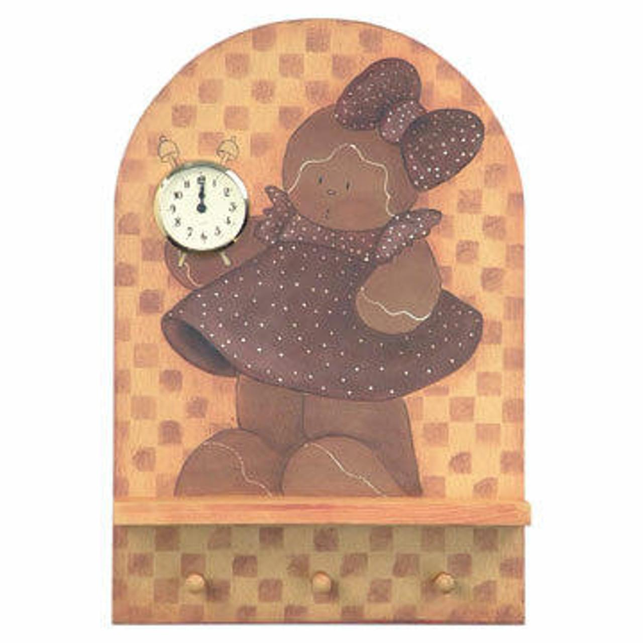 Cherry Tree Toys Gingerbread Clock Plan