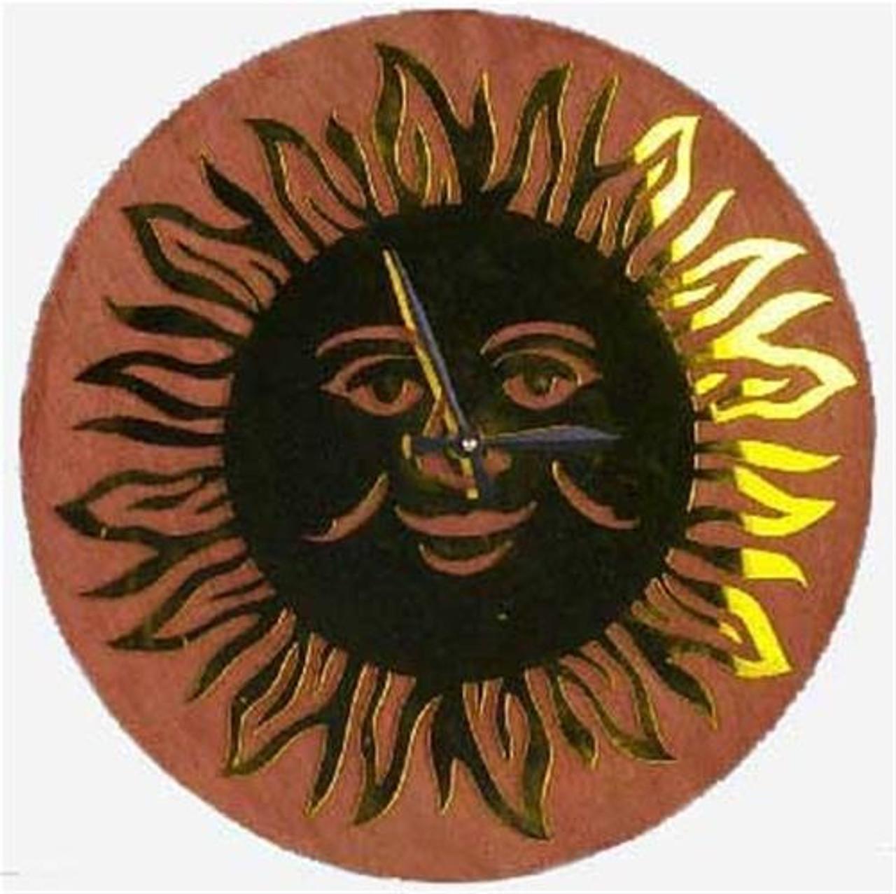 Wildwood Designs Sun Wall Clock Plan