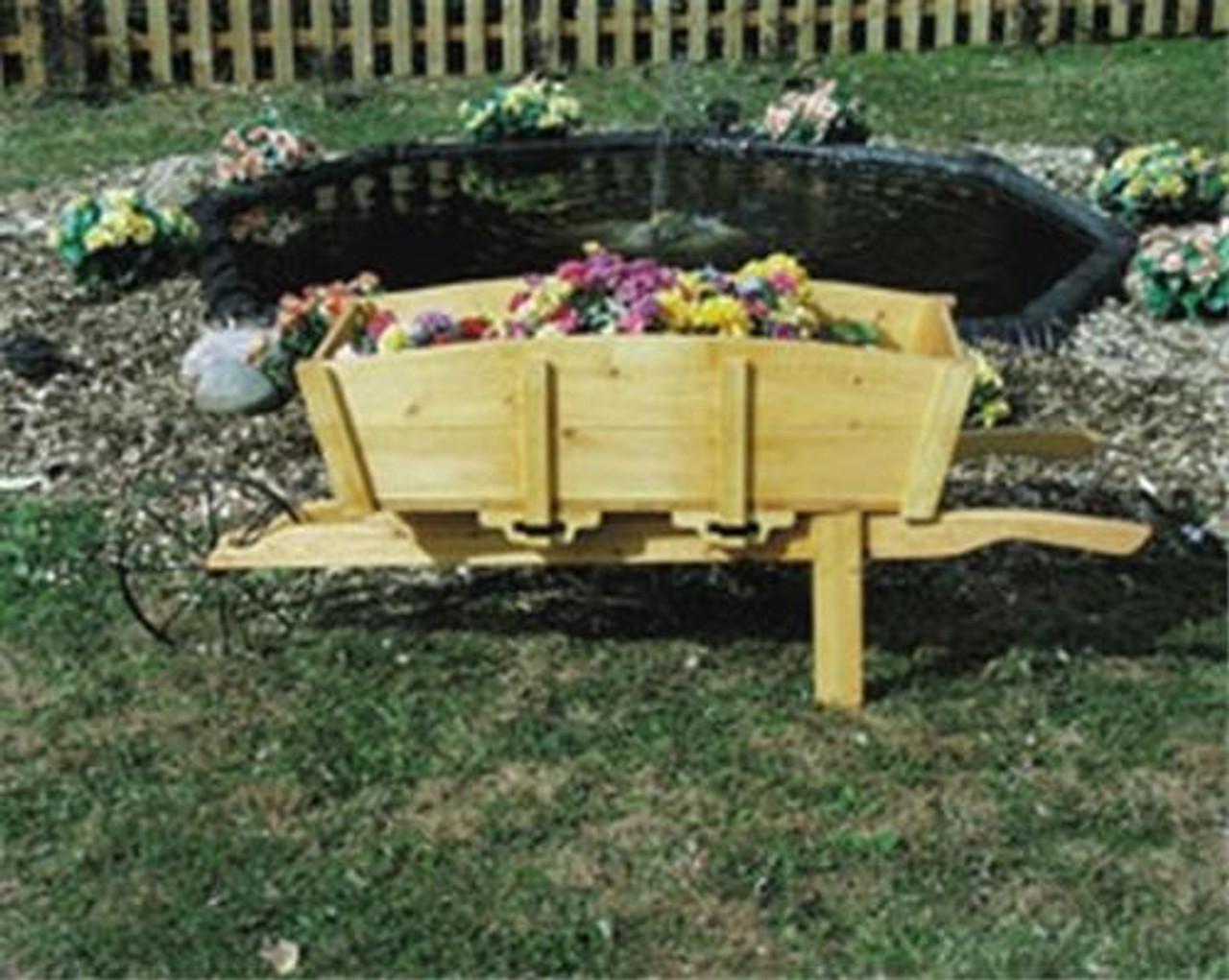 Meisel Vermont Wheelbarrow Bench Plan
