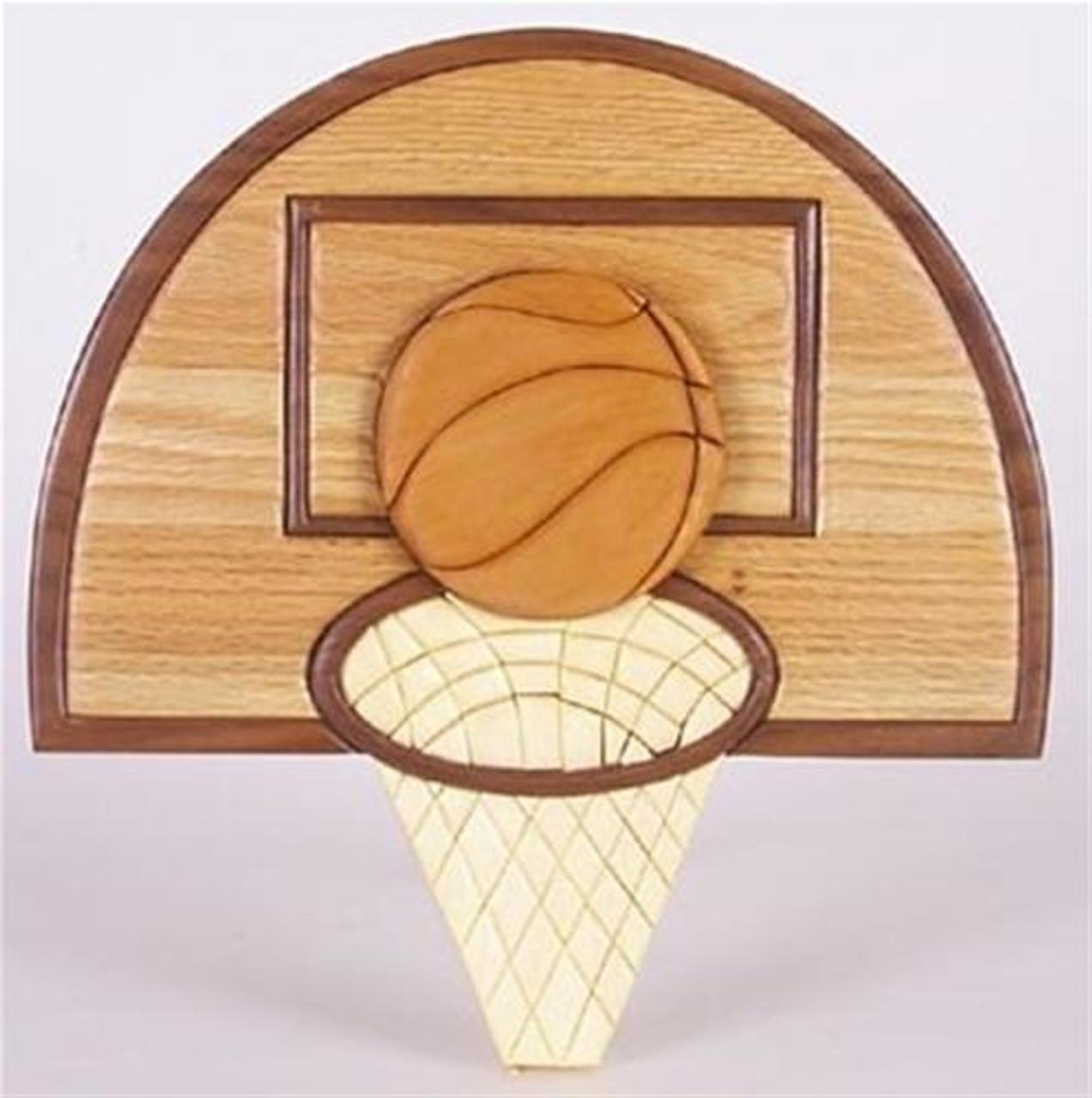 Cherry Tree Toys Basketball Intarsia Plan