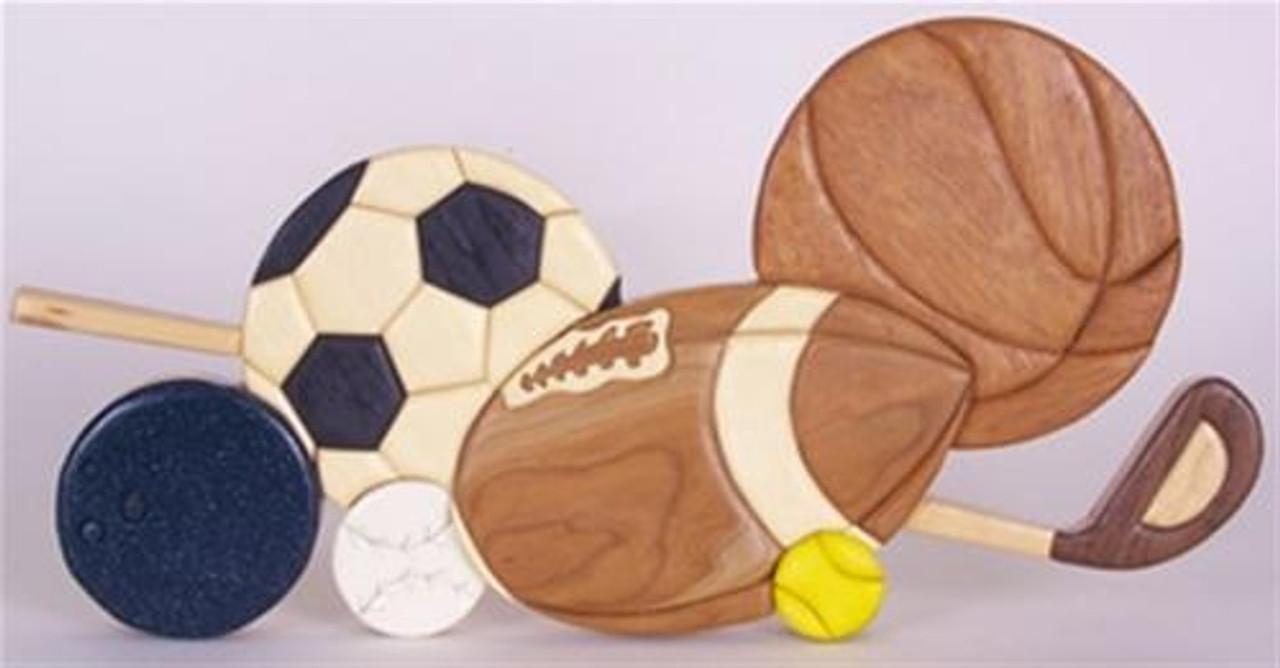 Cherry Tree Toys Sports Intarsia Plan