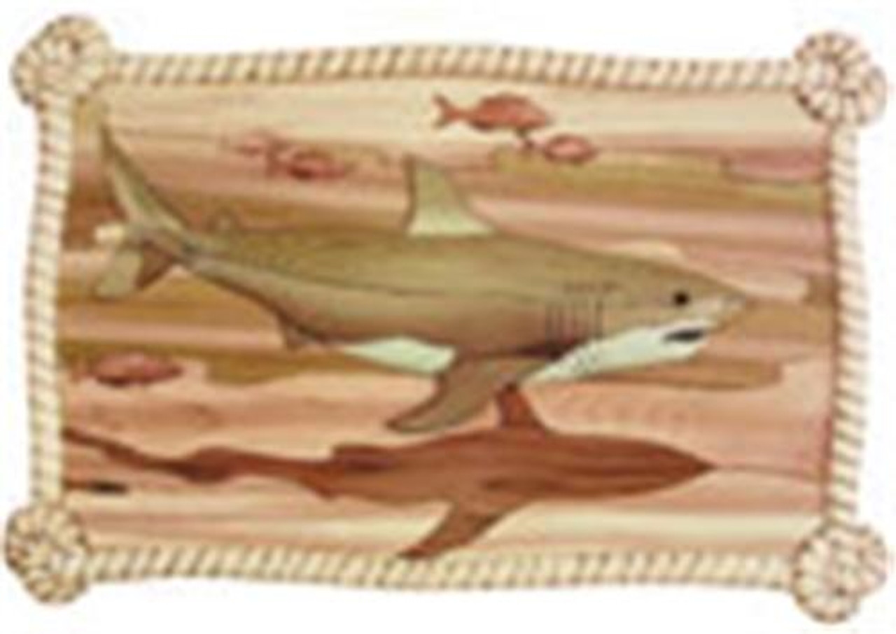 Cherry Tree Toys Great White Shark Intarsia Plan
