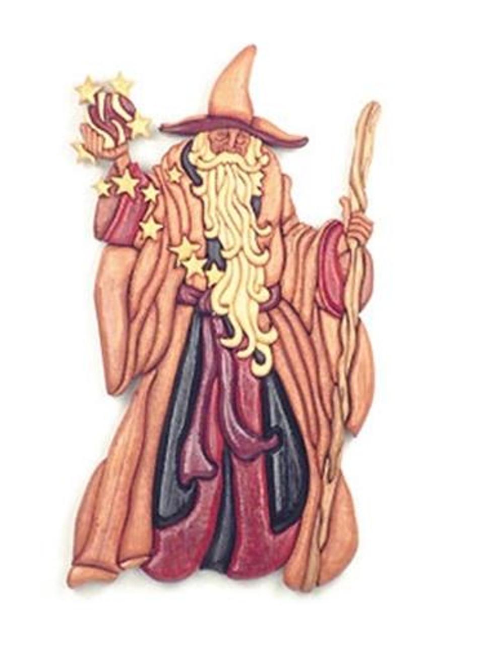 Cherry Tree Toys Wizard Intarsia Plan