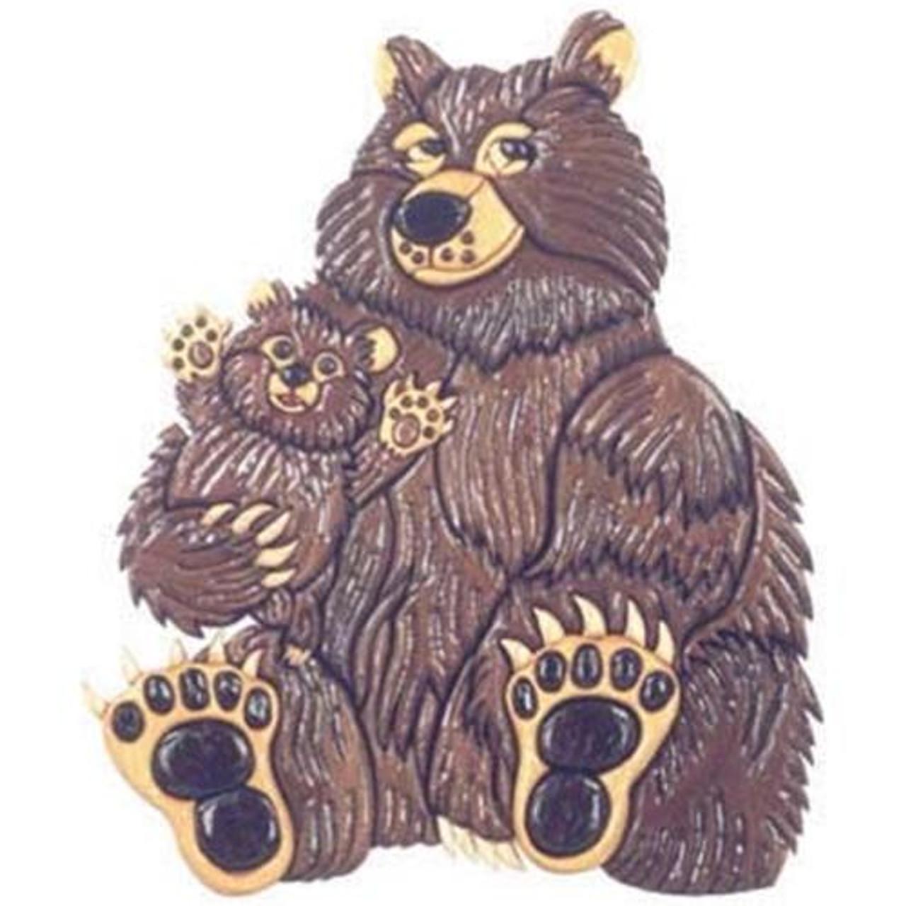 Cherry Tree Toys Bears Intarsia Plan