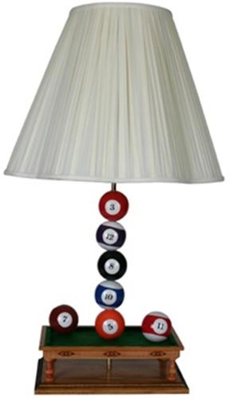 Cherry Tree Toys Pool Ball Lamp Plan