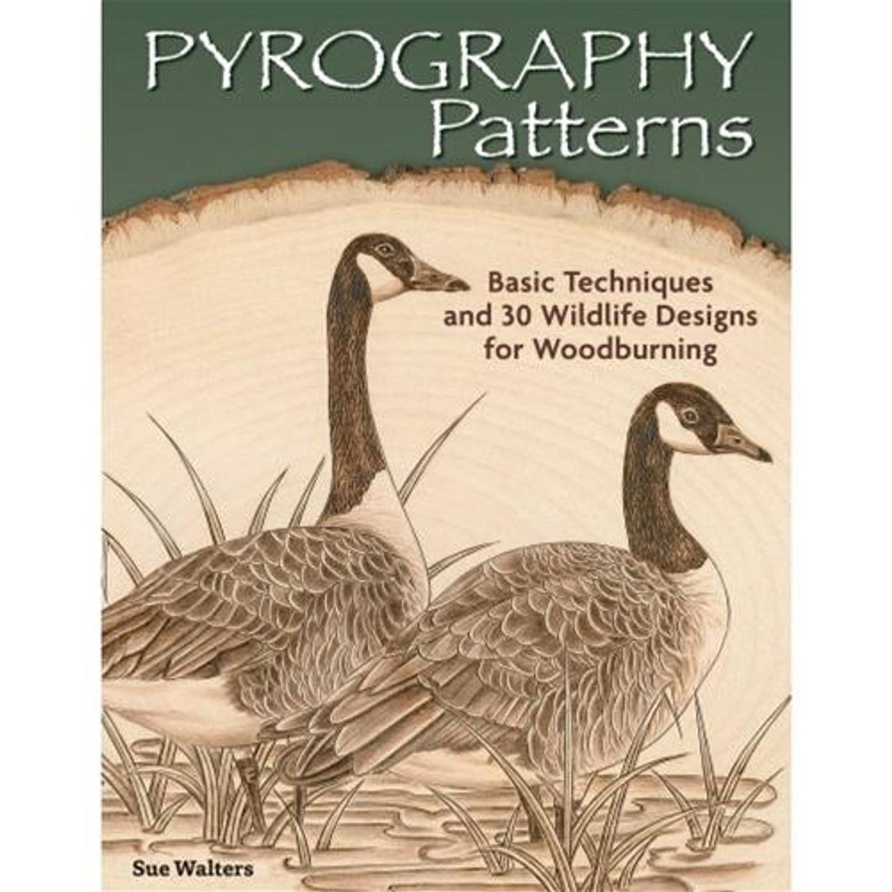 Fox Chapel Publishing Pyrography Patterns Sue Walters