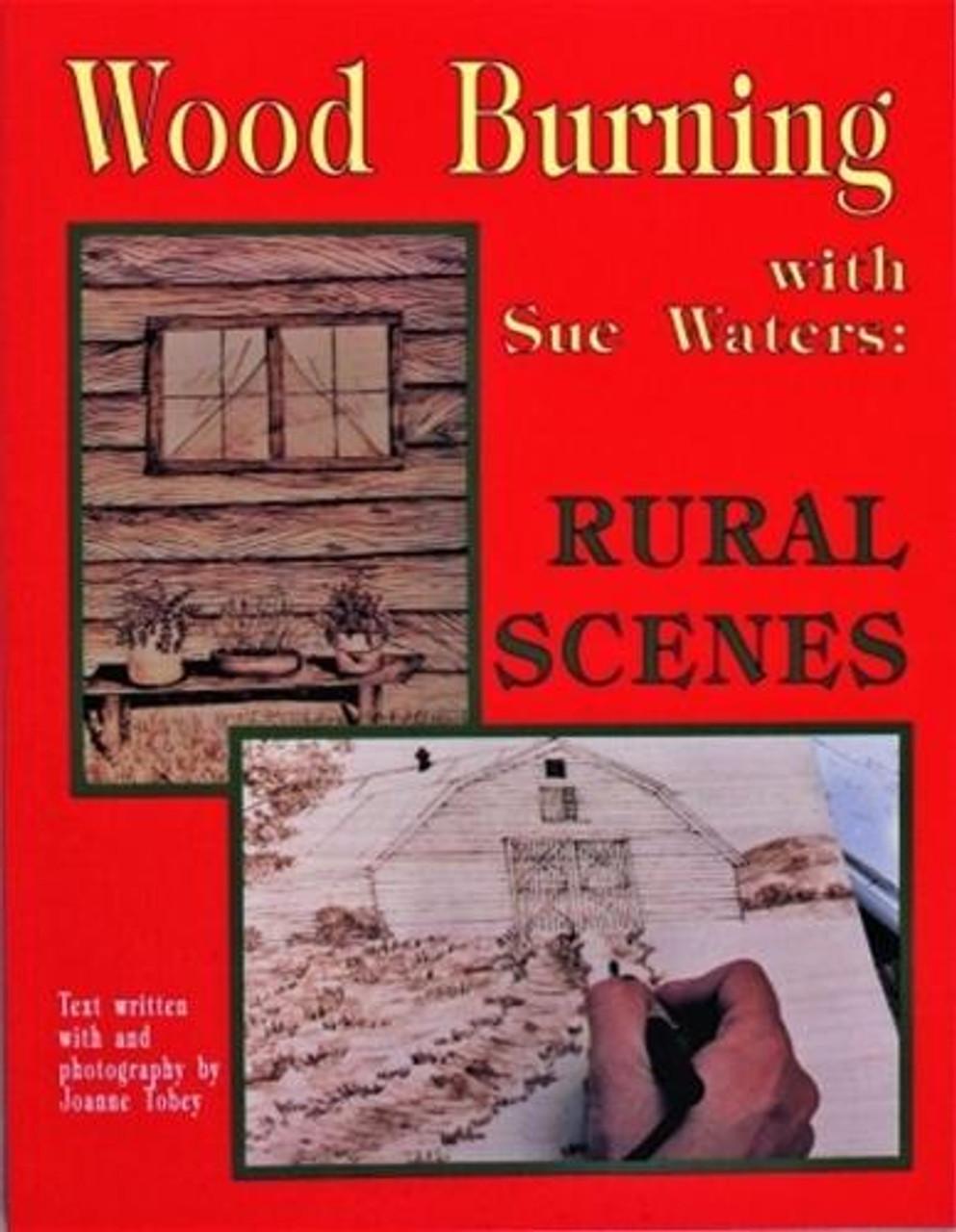 Schiffer Publishing Wood Burning Rural Scenes