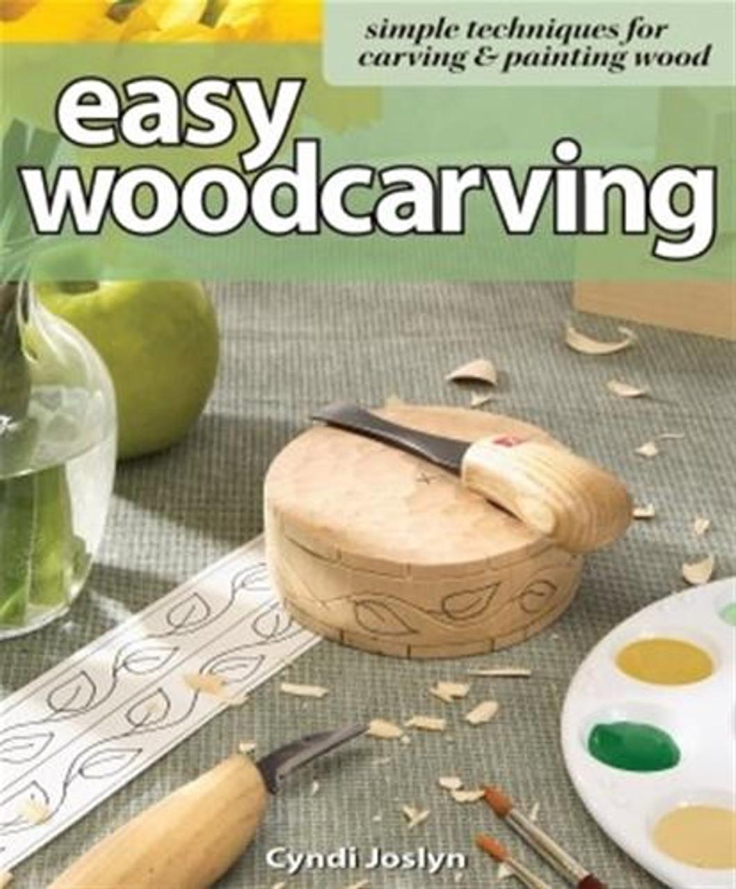 Fox Chapel Publishing Easy Woodcarving