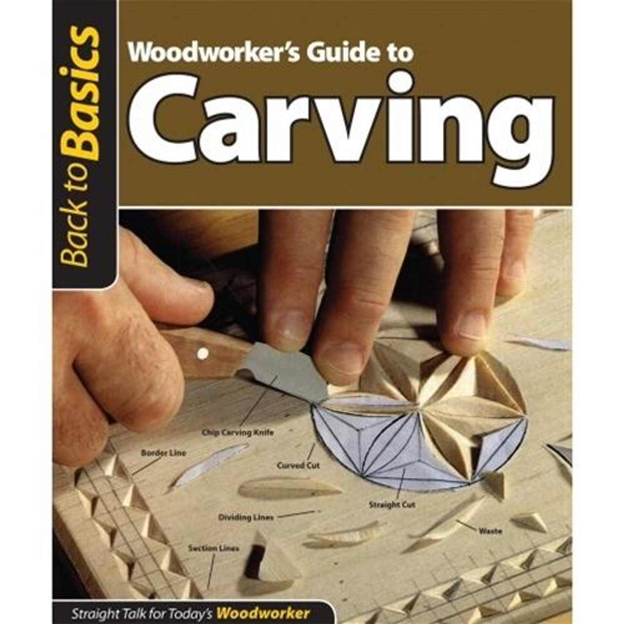 Fox Chapel Publishing Woodworkers Guide to Carving
