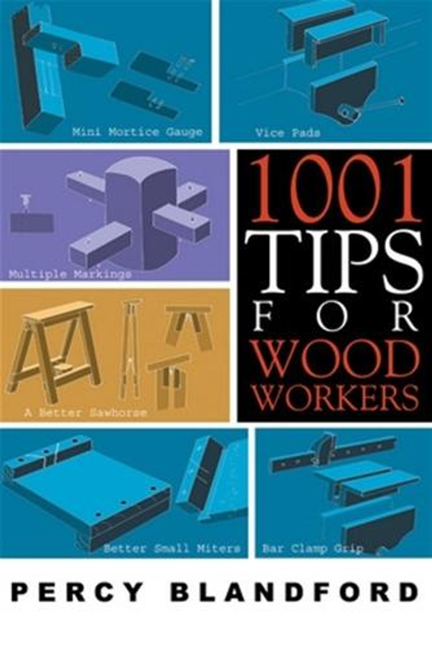 Linden Publishng 1001 Tips For WoodWorkers
