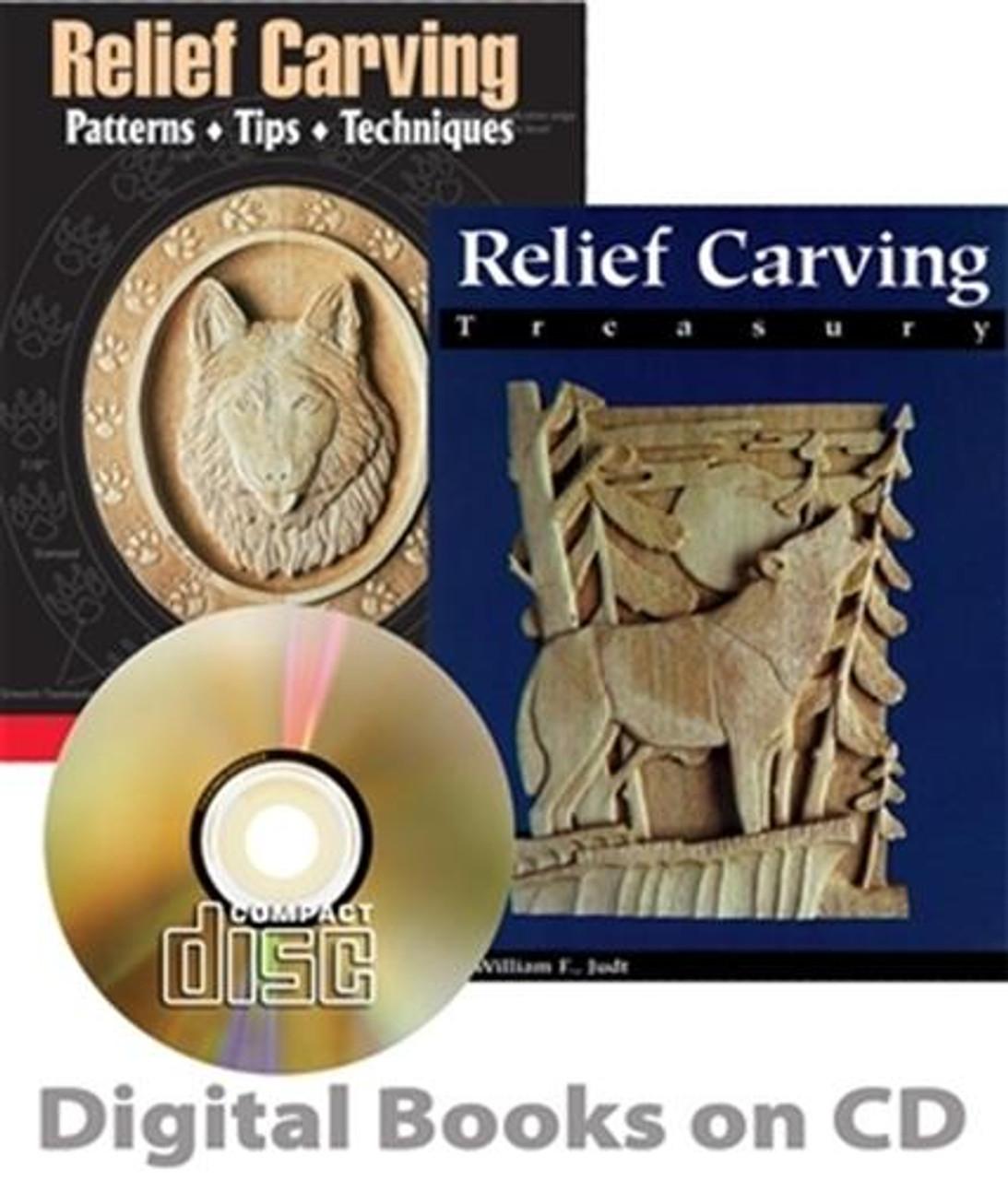 Fox Chapel Publishing Relief Carving CD Set 1