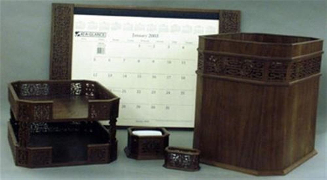 Wildwood Designs 5 Piece Desk Set Scroll Saw Plan