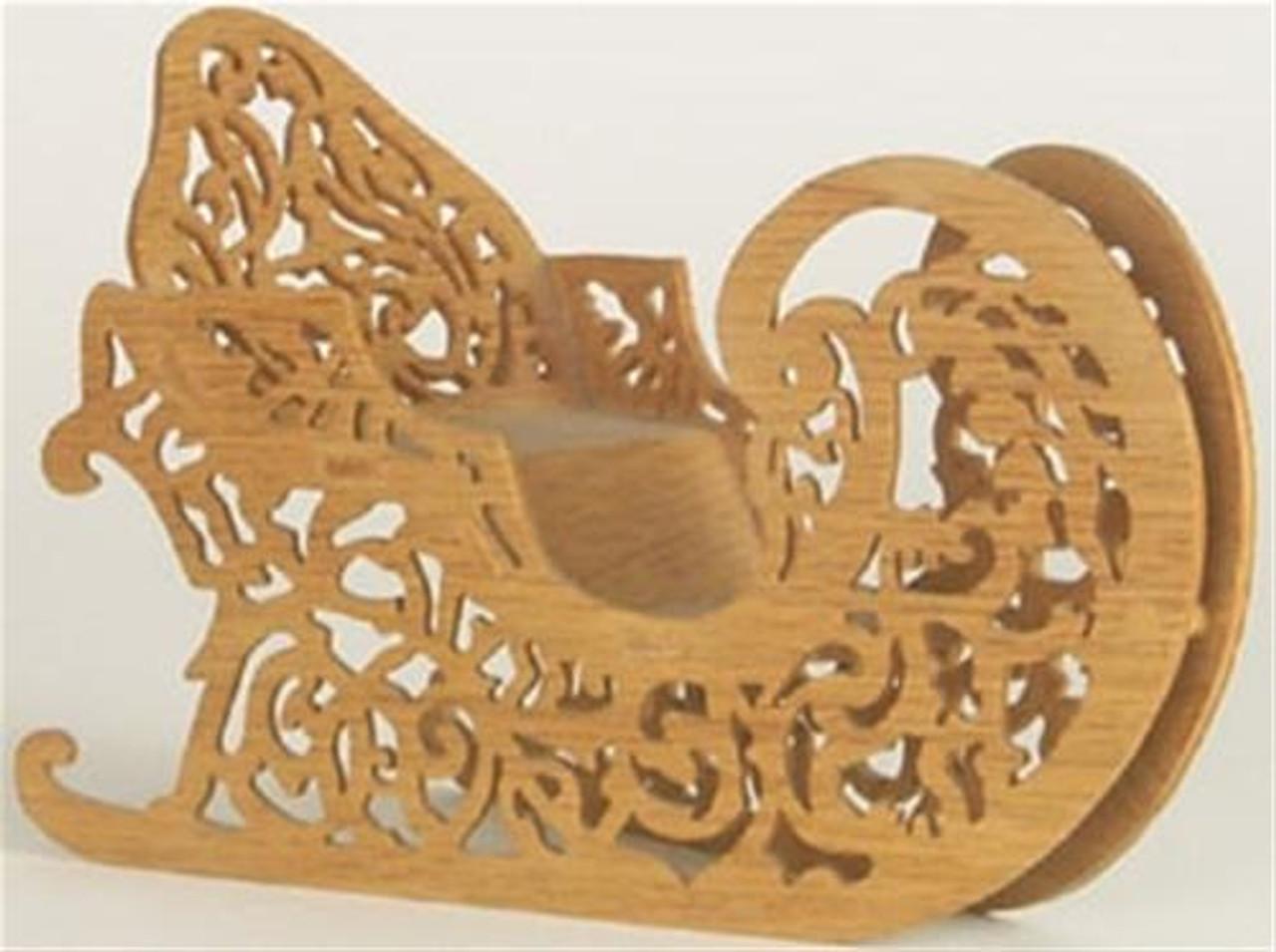 Wildwood Designs Santas Sleigh Scroll Saw Plan