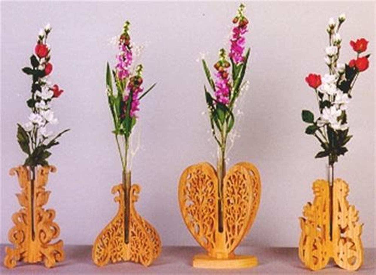 Wildwood Designs Sweetheart Bud Vases Plan