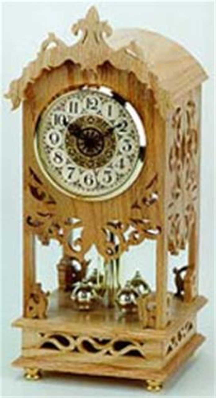Wildwood Designs Rotary Anniversary Scroll Saw Clock Plan