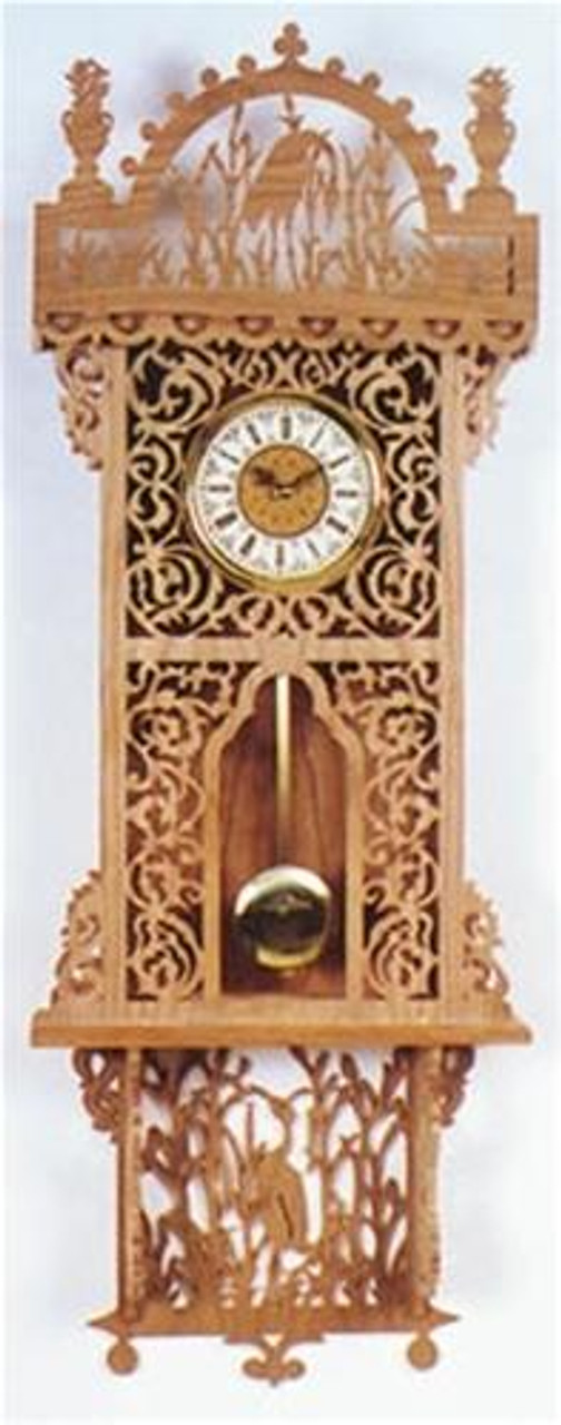 Wildwood Designs Brentwood Scroll Saw Wall Clock Plan