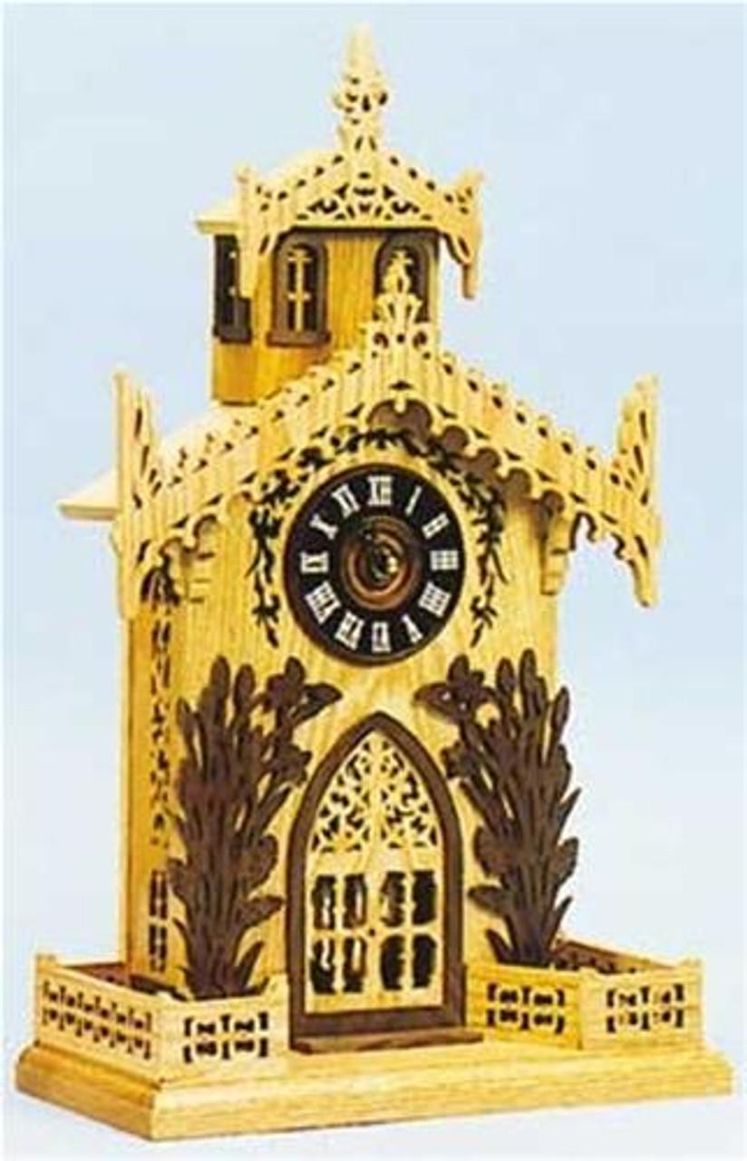 Wildwood Designs St Augustine Scroll Saw Clock Plan