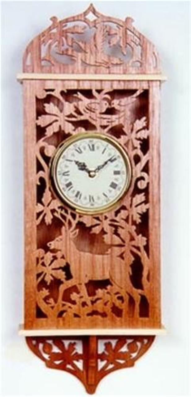 Wildwood Designs Wilderness Clock Scroll Saw Plan