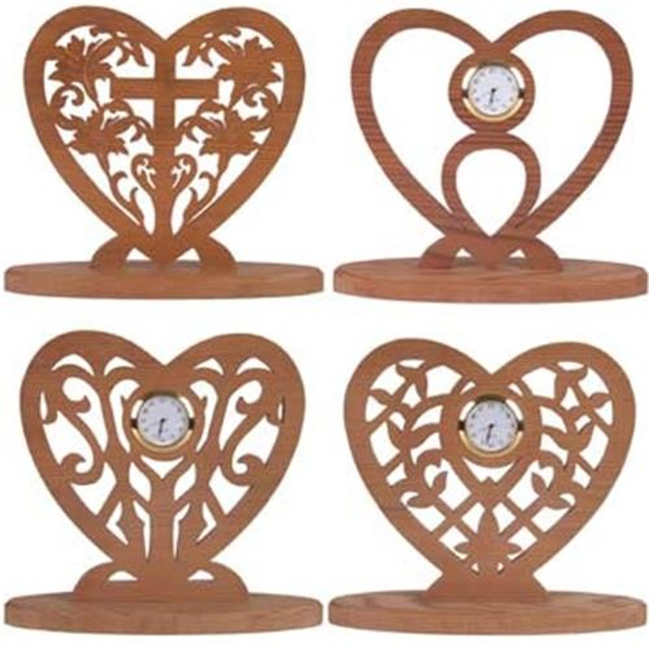 Wildwood Designs Four Mini Hearts Scroll Saw Plan