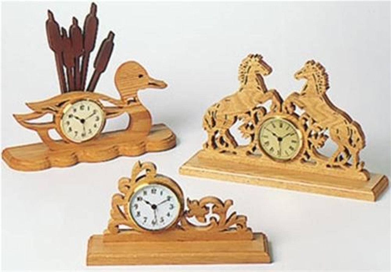 Wildwood Designs Maxi Clock Scroll Saw Designs Plan