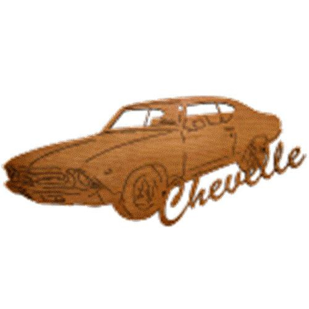 Wildwood Designs Chevelle Muscle Car Plan