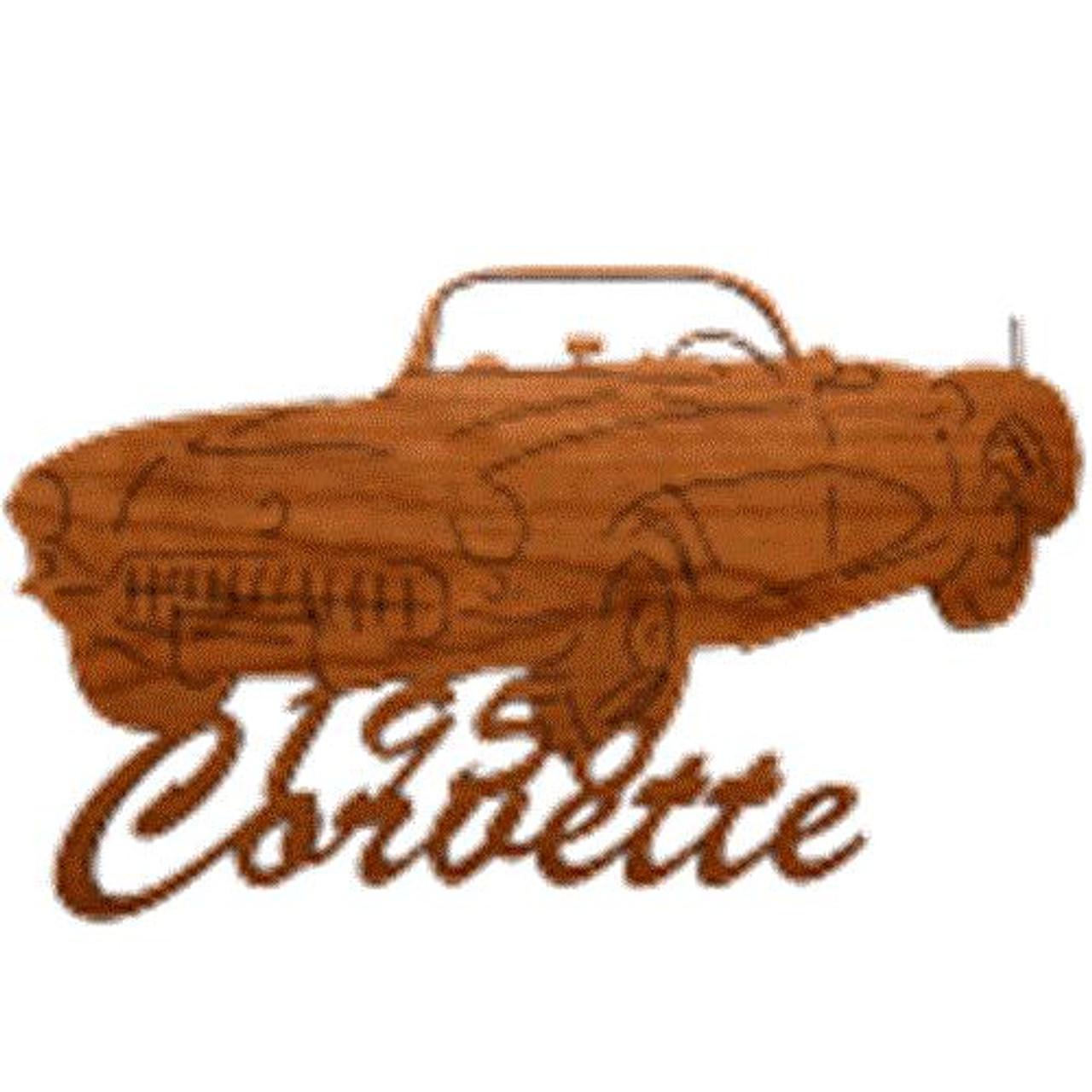 Wildwood Designs 1956 Corvette Muscle Car Plan