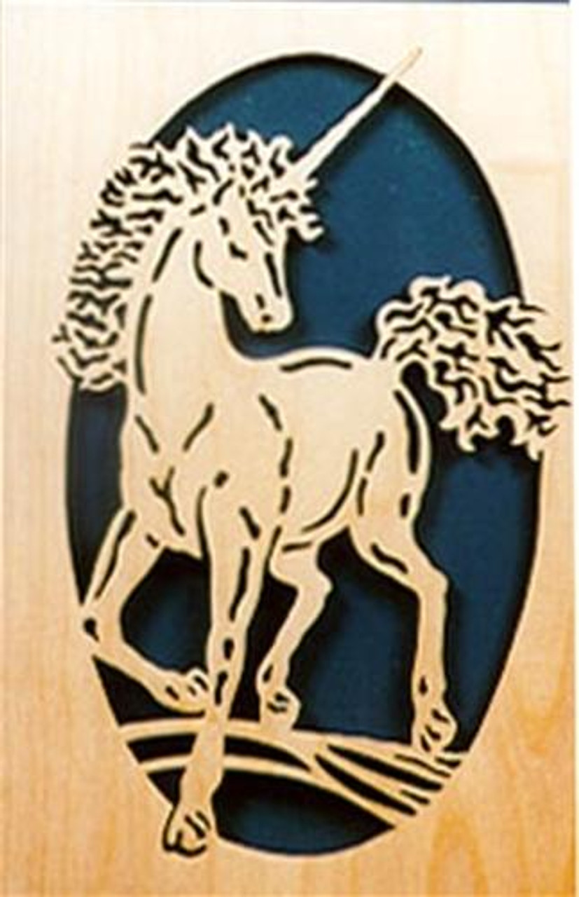 Wildwood Designs Unicorn Silhouette Plan